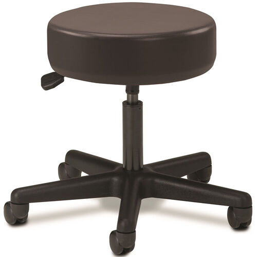 Our Pneumatic Adjustable Medical Stool - Black with Black Base is on sale now.