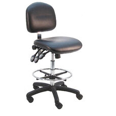Deluxe Cleanroom Class 100 Vinyl Chair - Nylon Base