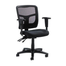 Lorell 86000 Series Mesh Managerial Mid Back Chair