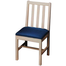 120 Desk Chair w/ Wood Back and Upholstered Seat - Grade 2
