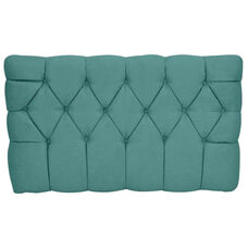 Kids Meridia Collection - Tufted Upholstered Twin Headboard - Tide Pool Suede
