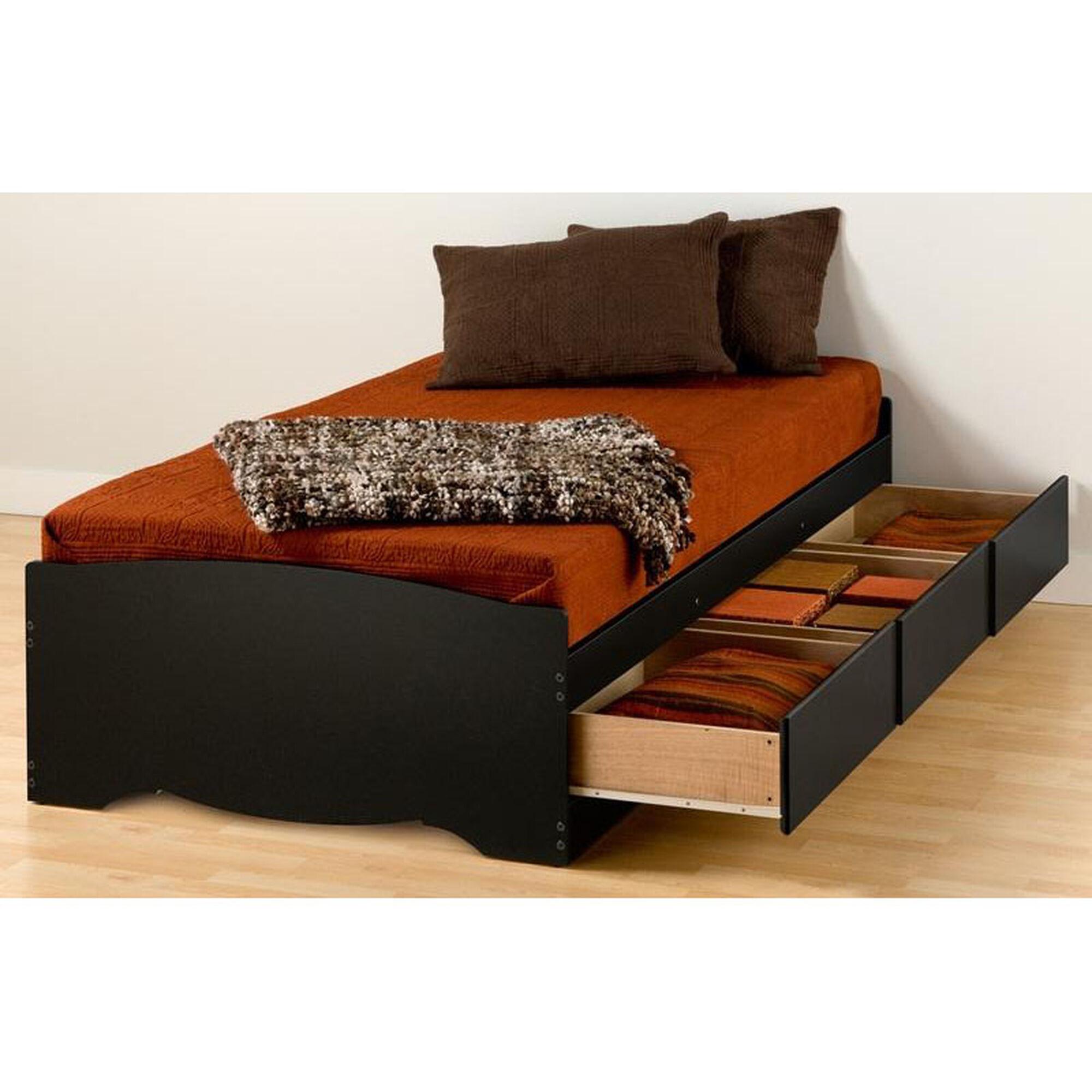 Platform Storage Bed Twin Xl Bbx 4105 K Bizchaircom