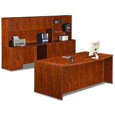 Cherry 9 Piece Executive Office Set