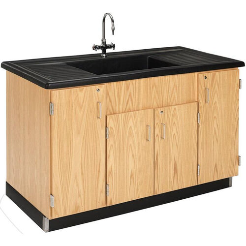 Our Science Lab Wooden Clean Up Sink with 1