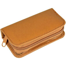 Deluxe Mini Manicure Kit - Sedona New Bonded Leather - Tan