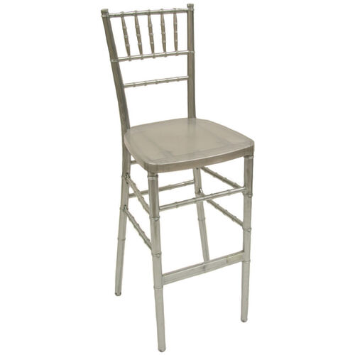 Our 1000 lb. Max Silver Resin Steel Core Chiavari Barstool is on sale now.