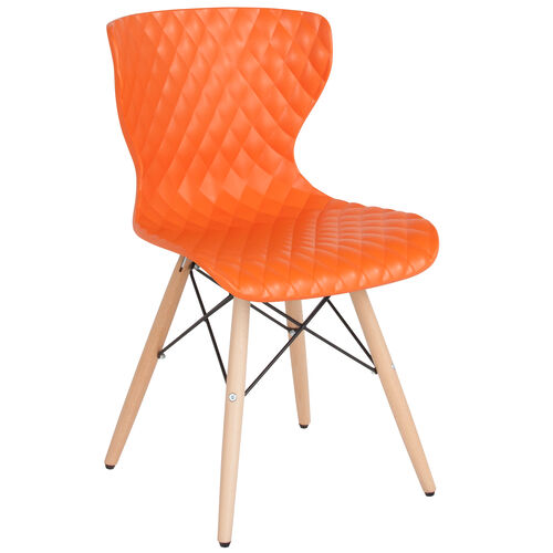 Our Bedford Contemporary Design Plastic Chair with Wooden Legs is on sale now.