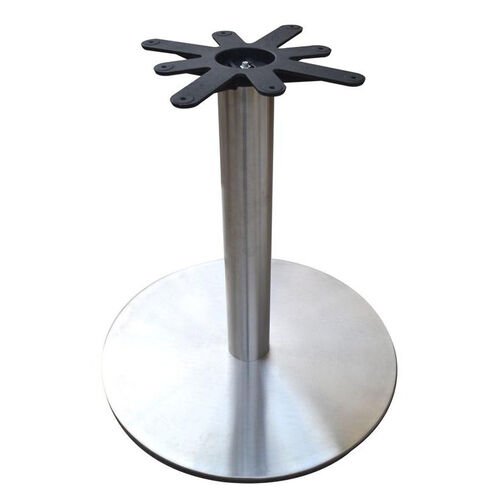Our Stainless Steel Round Dining Height Table Base with 28