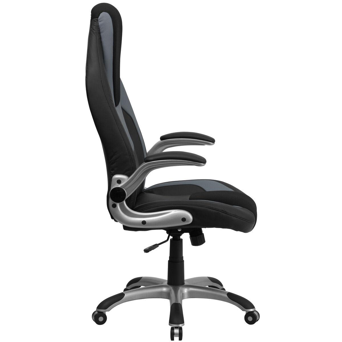 Blackgray High Back Chair Ch Cx0326h02 Gg Bizchaircom