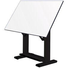Elite Black Drawing Table - 72