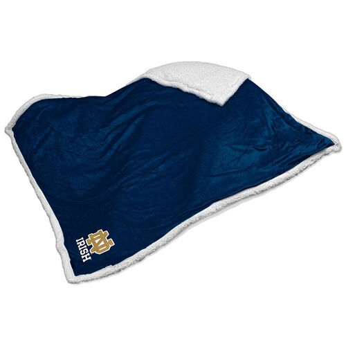 Our University of Notre Dame Team Logo Sherpa Throw is on sale now.