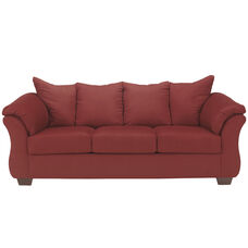 Signature Design by Ashley Darcy Sofa in Salsa Microfiber