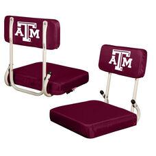 Texas A&M University Team Logo Hard Back Stadium Seat