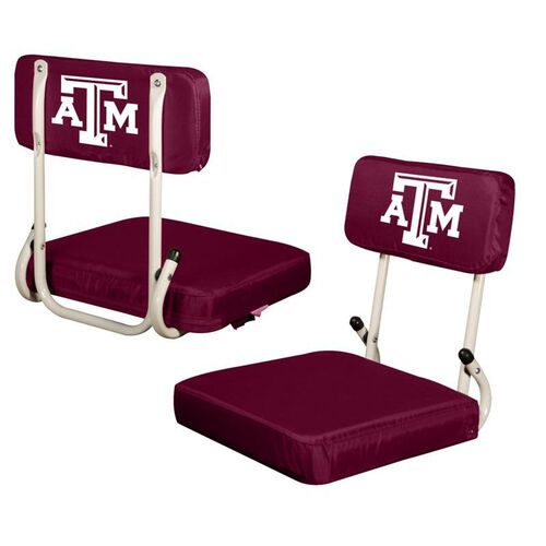 Our Texas A&M University Team Logo Hard Back Stadium Seat is on sale now.