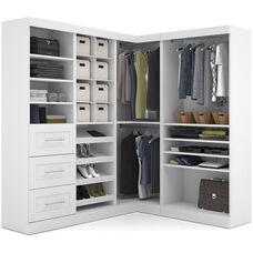 Pur Corner Storage Kit - White