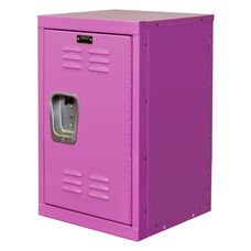 Bubble Gum Pink Kids Mini Locker Unembled 15