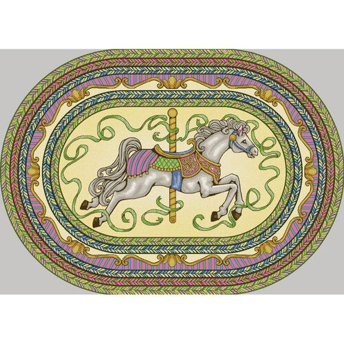 Our Carousel Rug is on sale now.