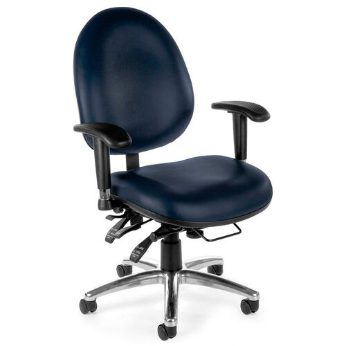 Our 24 Hour Big & Tall Anti-Microbial and Anti-Bacterial Vinyl Task Chair - Navy is on sale now.