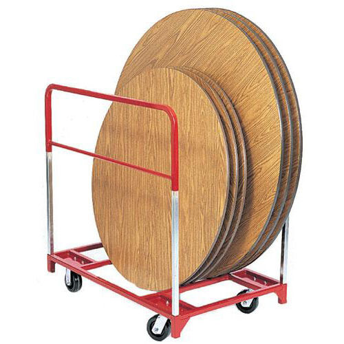 Our Steel Frame Round Folding Table Mover with Casters is on sale now.