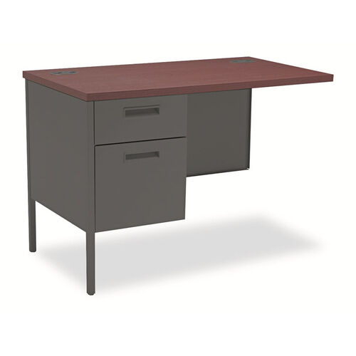 Our HON® Metro Classic Series Workstation Return - Left - 42w x 24d - Mahogany/Charcoal is on sale now.