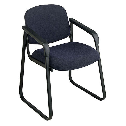 Our Work Smart Deluxe Padded Sled Base Arm Chair with Designer Plastic Shell Back is on sale now.