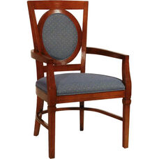 2562 Arm Chair w/ Upholstered Back & Seat - Grade 1