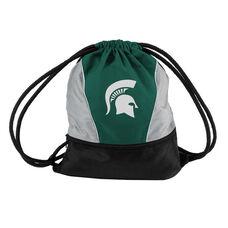 Michigan State University Team Logo Spring Drawstring Backsack