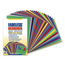 Pacon Fadeless Designer Sheets - 100 Sheets - 12