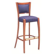 785 Bar Stool w/ Upholstered Back & Seat - Grade 2