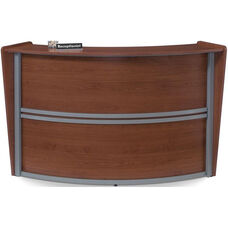 Marque Single-Unit Reception Station - Cherry