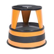 350 lb Capacity Kik Step Stool - Orange