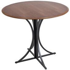 Boro Contemporary Dining Table - Walnut