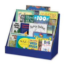 Pacon Book Shelf - Classroom Keeper - 3 Tiered - 17'' x 20'' x 10'' - Blue