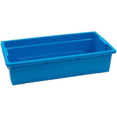 Royal Really Big Environmentally Friendly Tough Plastic Tub - Blue - 13.5