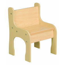 1000 Series Pre School Maple Activity Chair - 10