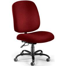 Big & Tall Task Chair - Wine