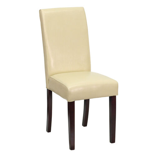 Our Ivory LeatherSoft Parsons Chair is on sale now.