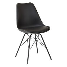 Ave Six Emerson Side Chair - Set of 2 - Black