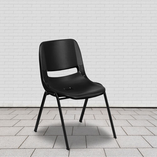 Our HERCULES Series 880 lb. Capacity Ergonomic Shell Stack Chair with Metal Frame is on sale now.