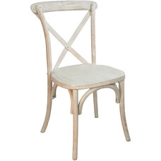Advantage Lime Wash X-Back Chair