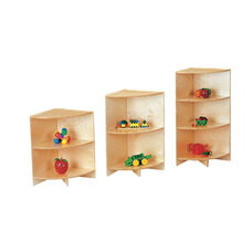Stationary Curves Corner Storage Shelf