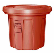 20 Gallon Cobra Food Grade/General Use Trash Can - Red