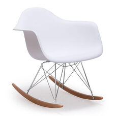 Rocket Occasional Chair in White