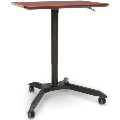 Our Mesa Series Height Adjustable Mobile Podium - Cherry is on sale now.