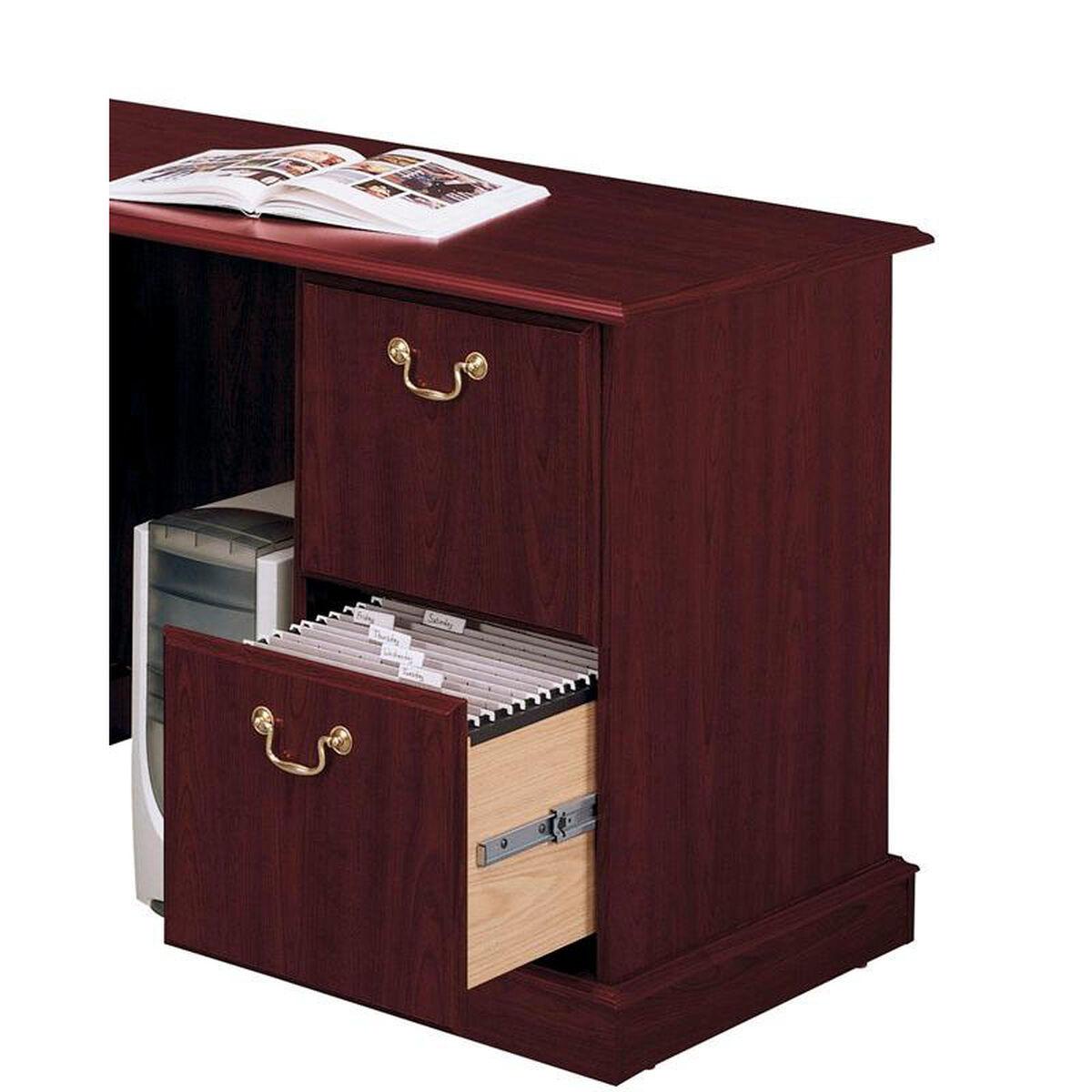 Bush Home Furniture Saratoga Wooden 66 1 W X 30 5 H
