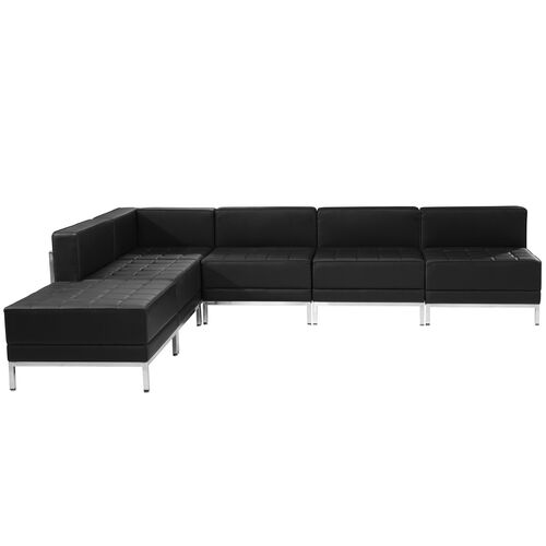 Our HERCULES Imagination Series Black LeatherSoft Sectional Configuration, 6 Pieces is on sale now.
