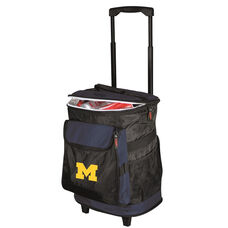 University of Michigan Team Logo Rolling Cooler