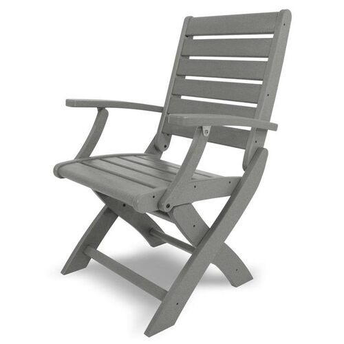 Our POLYWOOD® Signature Folding Chair - Slate Grey is on sale now.