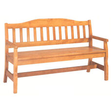 1465 Bench w/ Wood Slat Seat