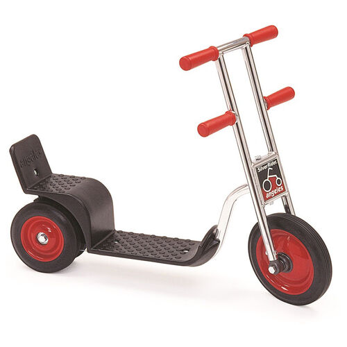 Our Silver Rider Skitter Scooter with Spokeless Solid Rubber Wheels is on sale now.